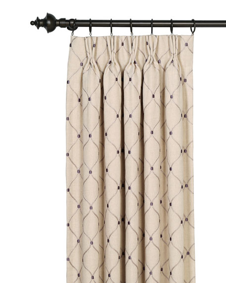 "Eastern Accents Branson Ivy Curtain Panel, 20"" x 108"""