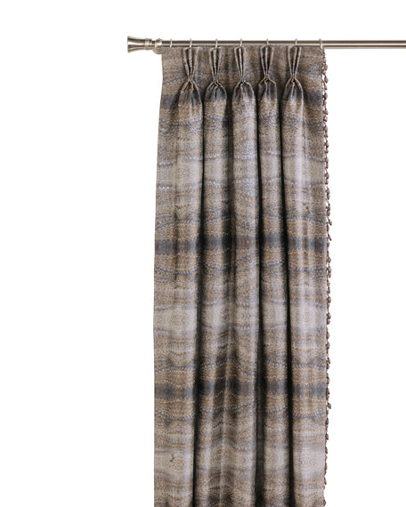 """Eastern Accents Imogen Left Curtain Panel, 20"""" x 96"""""""