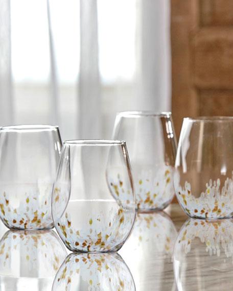 Cymone Stemless Glasses, Set of 4