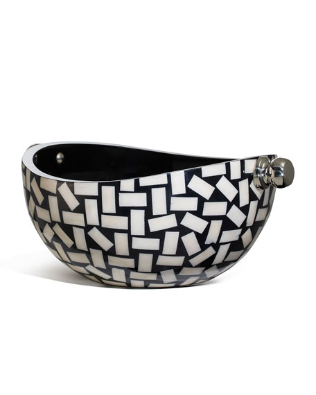 Image 1 of 2: LADORADA Bone Domino Bowl