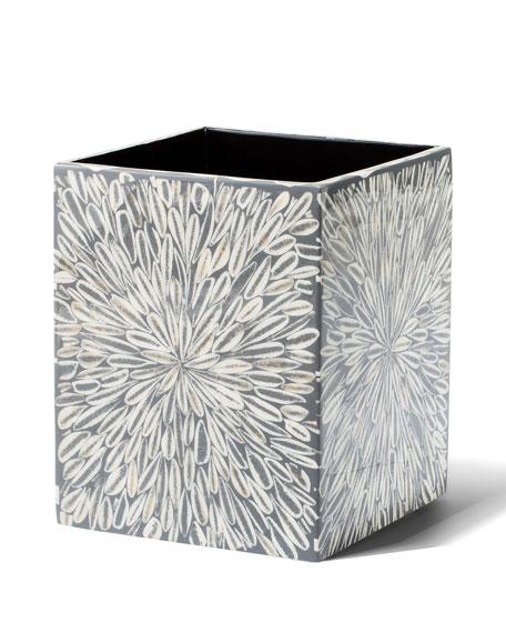 LADORADA Grey Almendro Wastebasket