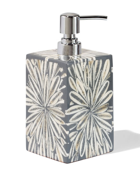 LADORADA Grey Almendro Soap Pump Dispenser