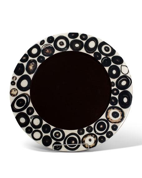 LADORADA Horn Ring Veneer Charger Plate