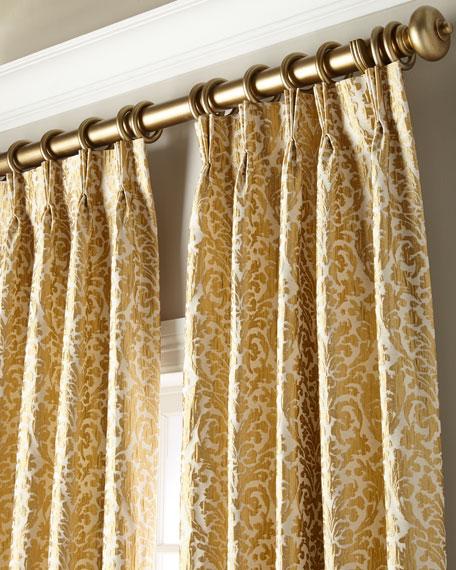"Misti Thomas Modern Luxuries Acelynn Curtain Panel, 132"""
