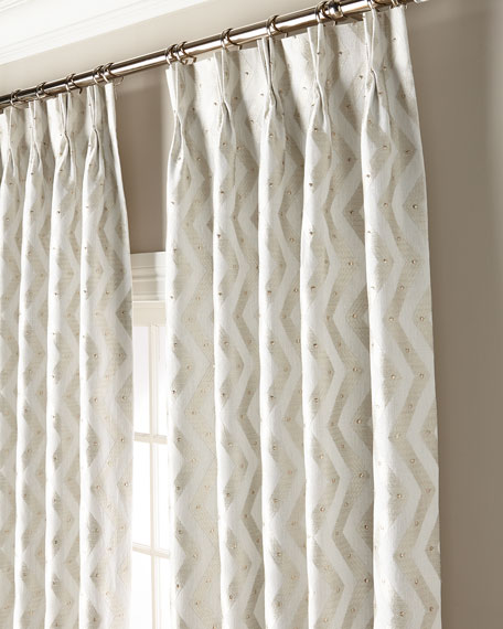 "Misti Thomas Modern Luxuries Rosa 108"" Curtain Panel"