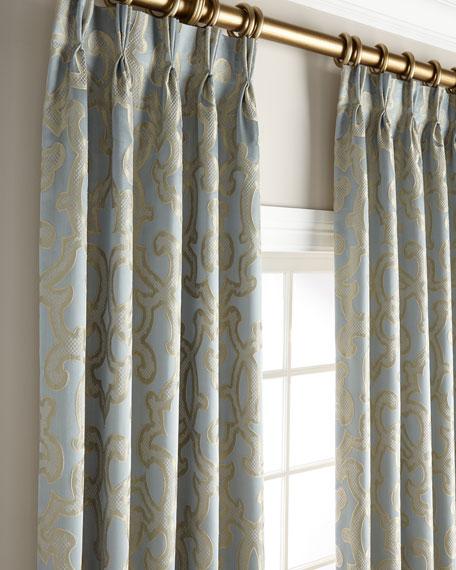 "Misti Thomas Modern Luxuries Evelyn 120"" Curtain Panel"