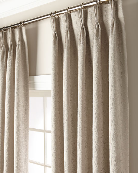 "Misti Thomas Modern Luxuries Sirena 120"" Curtain Panel"
