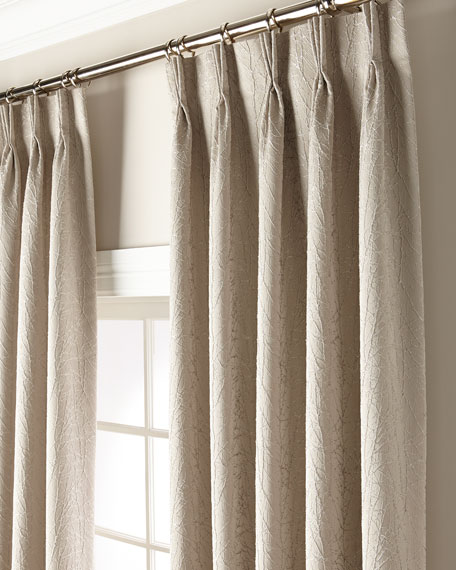 "Misti Thomas Modern Luxuries Sirena 132"" Curtain Panel"