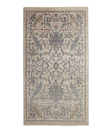 Simone Hand Knotted Rug, 6' x 9'