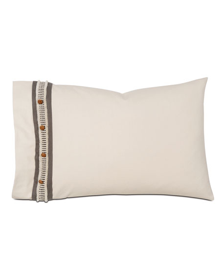 Eastern Accents Canyon Clay Standard Left Sham