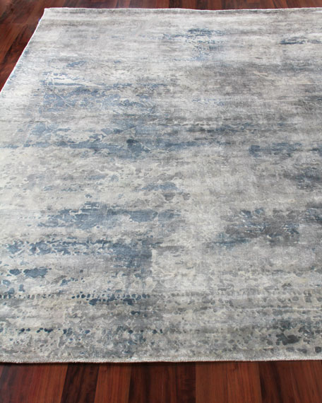 Exquisite Rugs Yinlo Hand-Knotted Rug, 6' x 9'