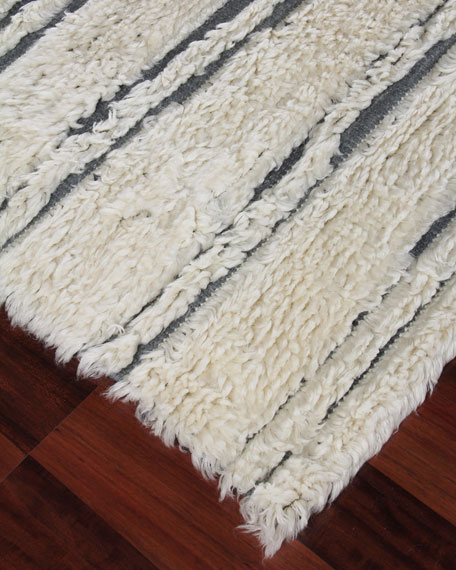 Exquisite Rugs Romon Hand-Knotted Rug, 8' x 10'