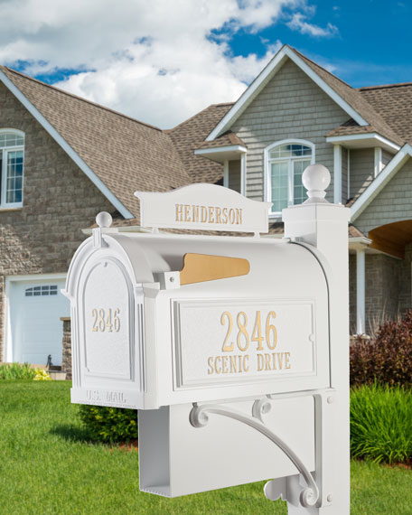 Whitehall Products Ultimate Mailbox Package