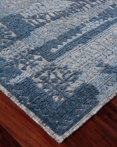 Exquisite Rugs Baker Hand-Knotted Wool Area Rug, 10' x 14'