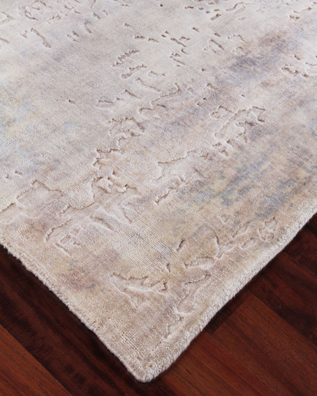 Exquisite Rugs Goodwin Hand-Knotted Rug, 6' x 9'