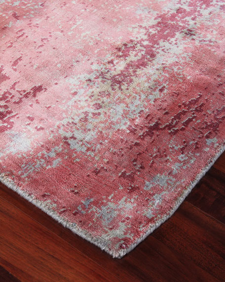 Image 2 of 3: Exquisite Rugs Timlin Hand-Knotted Rug, 10' x 14'