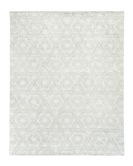 Image 2 of 5: Exquisite Rugs Virginia Hand-Tufted Rug, 10' x 14'