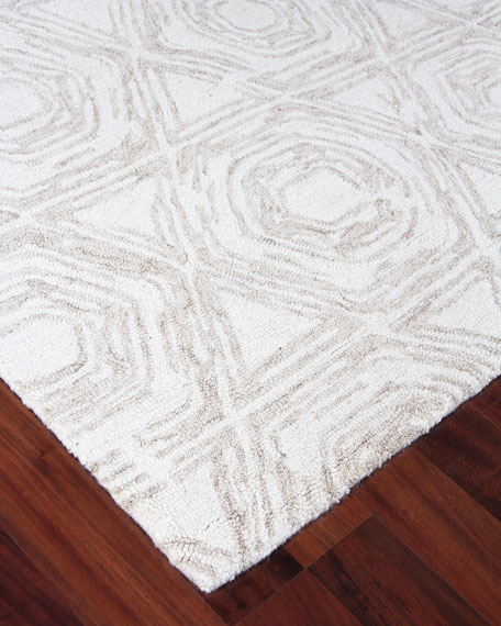 Image 3 of 5: Exquisite Rugs Virginia Hand-Tufted Rug, 10' x 14'