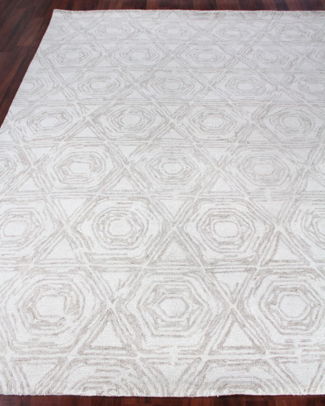 Image 1 of 5: Exquisite Rugs Virginia Hand-Tufted Rug, 10' x 14'