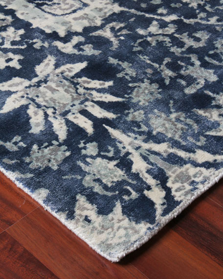 Exquisite Rugs Emmlynn Hand-Knotted Rug, 8' x 10'