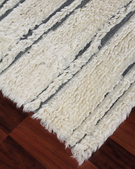 Exquisite Rugs Romon Hand-Knotted Rug, 10' x 14'