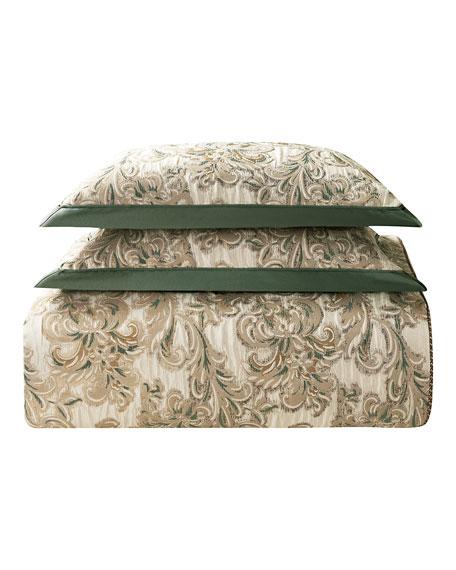 Waterford Anora Reversible Queen, 4-Piece Comforter Set