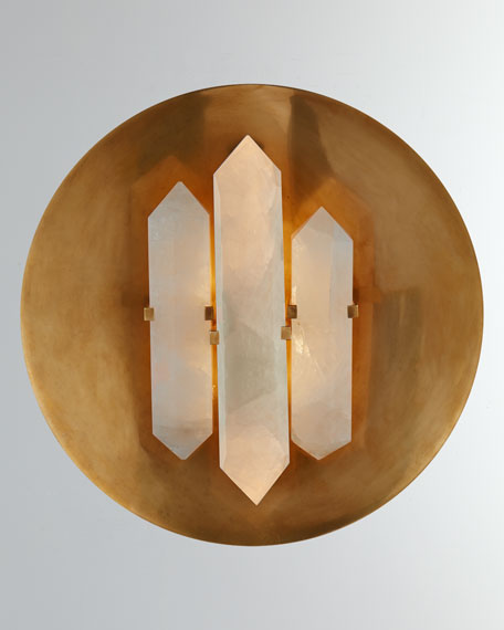 Kelly by Kelly Wearstler Halcyon Round Sconce