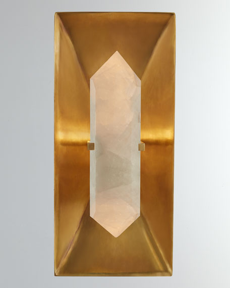 Kelly by Kelly Wearstler Halcyon Rectangle Sconce