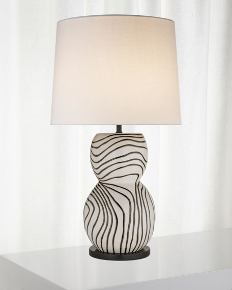 Kelly by Kelly Wearstler Balla Large Hand-Painted Table Lamp