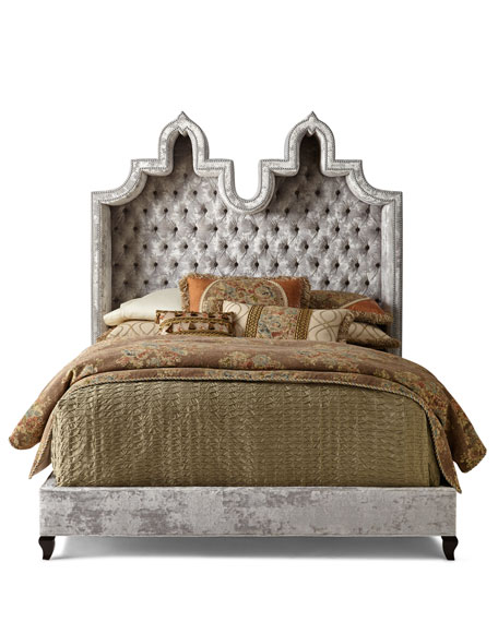 Haute House Carolina Hooded Queen Bed