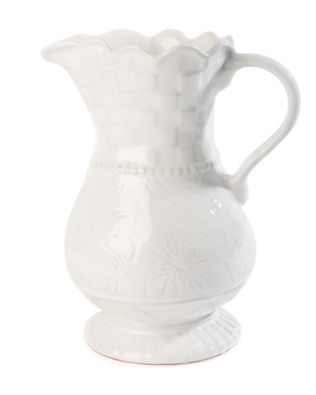 MacKenzie-Childs Sweetbriar Pitcher