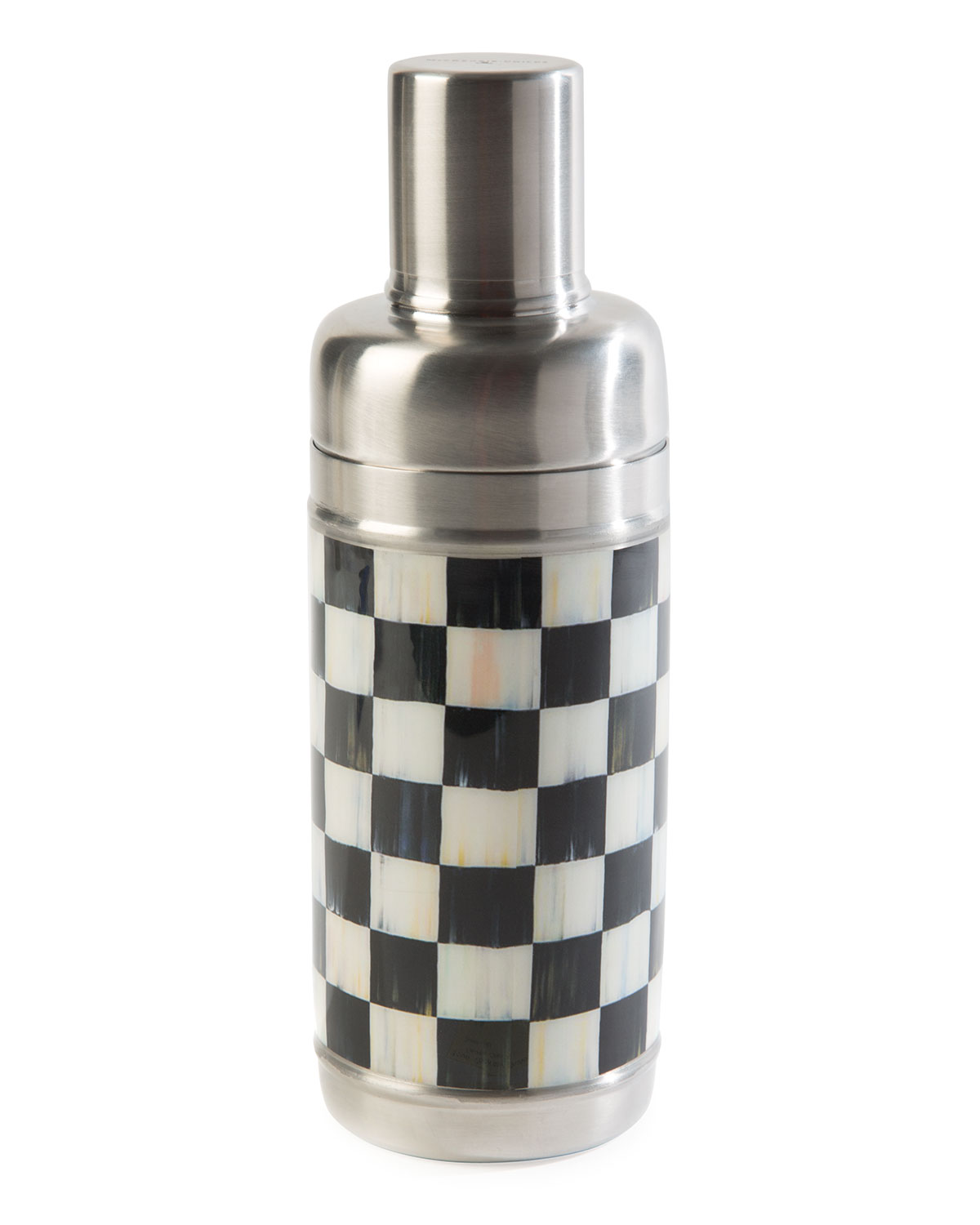 MacKenzie-Childs Courtly Check Cocktail Shaker