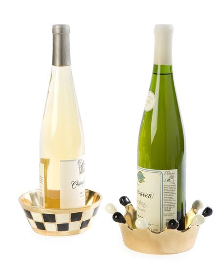 MacKenzie-Childs Ingenue Wine Coaster