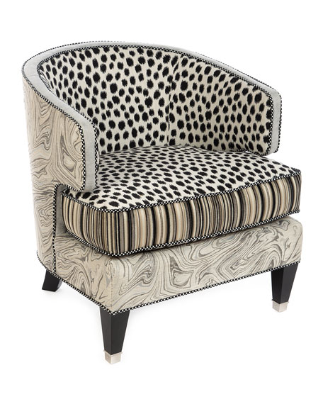 MacKenzie-Childs Dotography Chair