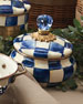 MacKenzie-Childs Royal Check Squashed Pot
