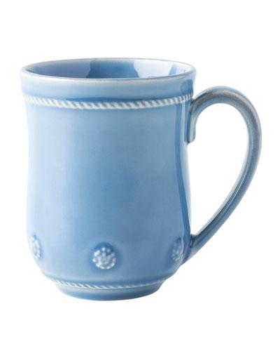 Berry and Thread Chambray Mug