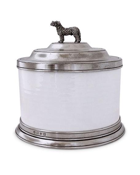 Match Convivio Cookie Jar with Dog Finial