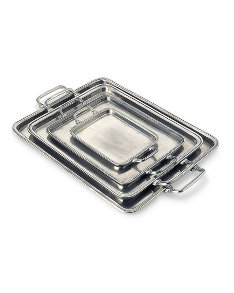 Image 2 of 2: Match X-Large Rectangle Tray with Handles