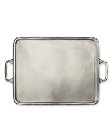Image 1 of 2: Match X-Large Rectangle Tray with Handles