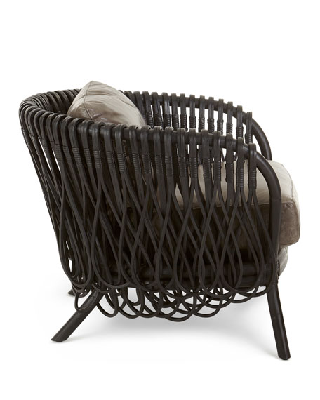 Image 2 of 4: Arteriors Strata Lounge Chair