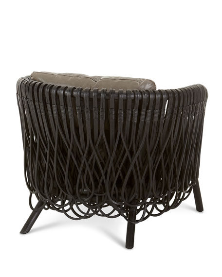 Image 4 of 4: Arteriors Strata Lounge Chair