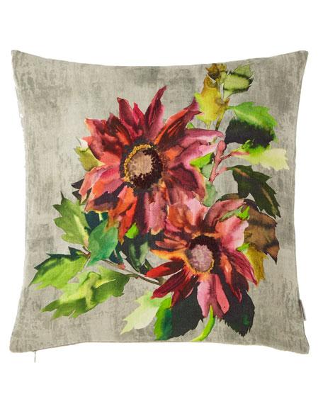Designers Guild Indian Sunflower Grande Berry Pillow