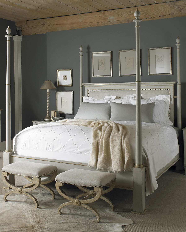 century furniture madeline queen poster bed  neiman marcus