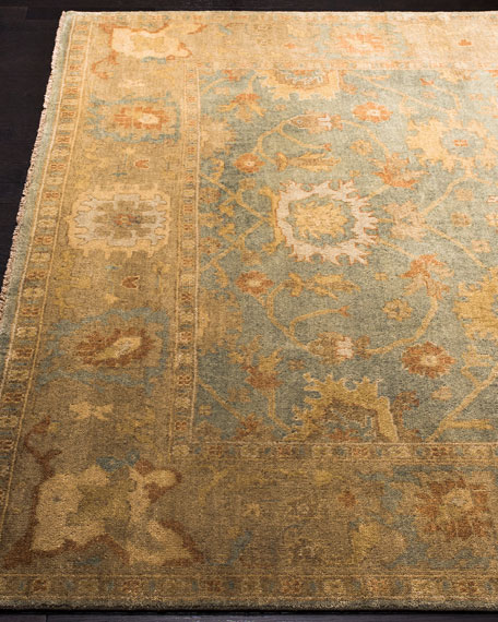 Safavieh Vegetable Vine Hand-Knotted Oushak Rug, 9' x 12'