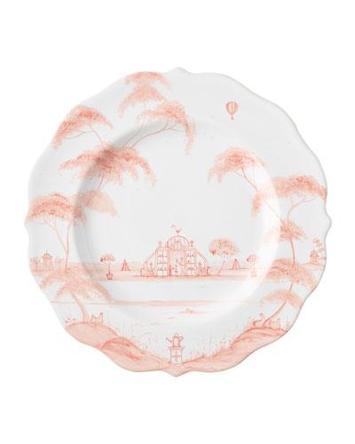 Country Estate Petal Pink Salad/Dessert Plate