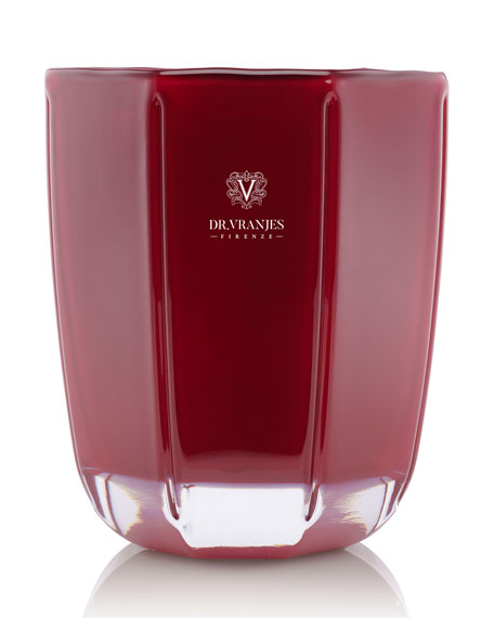 Dr. Vranjes Firenze Rose Nobile Red Candle, 1000g./ 35.27 oz