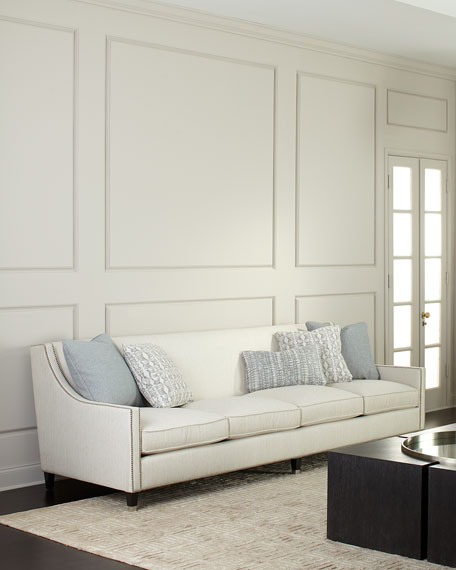 Image 1 of 3: Bernhardt Palisades Extra Long Sofa 108""