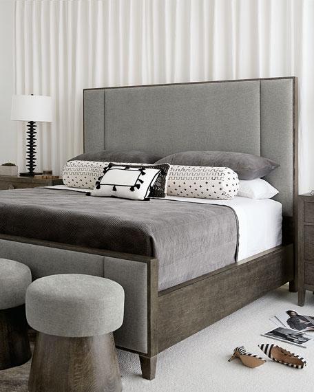 Bernhardt Linea Vertical Panel California King Bed
