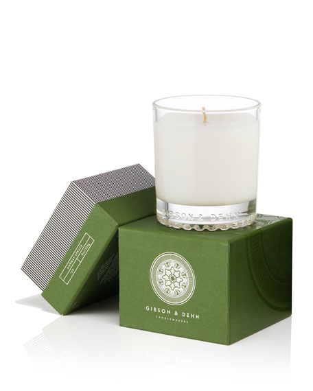 Image 2 of 3: Gibson & Dehn Norway Spruce Single Wick Candle, 8 oz. / 227g