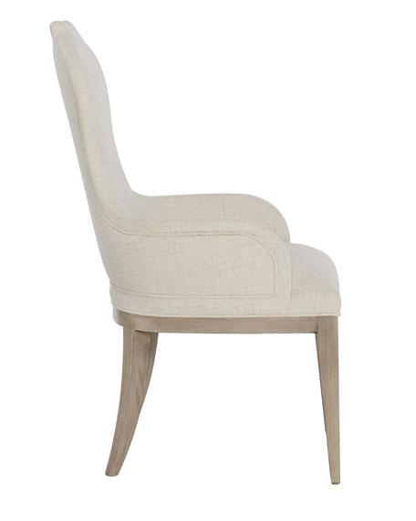 Bernhardt Santa Barbara Notched Arm Chair